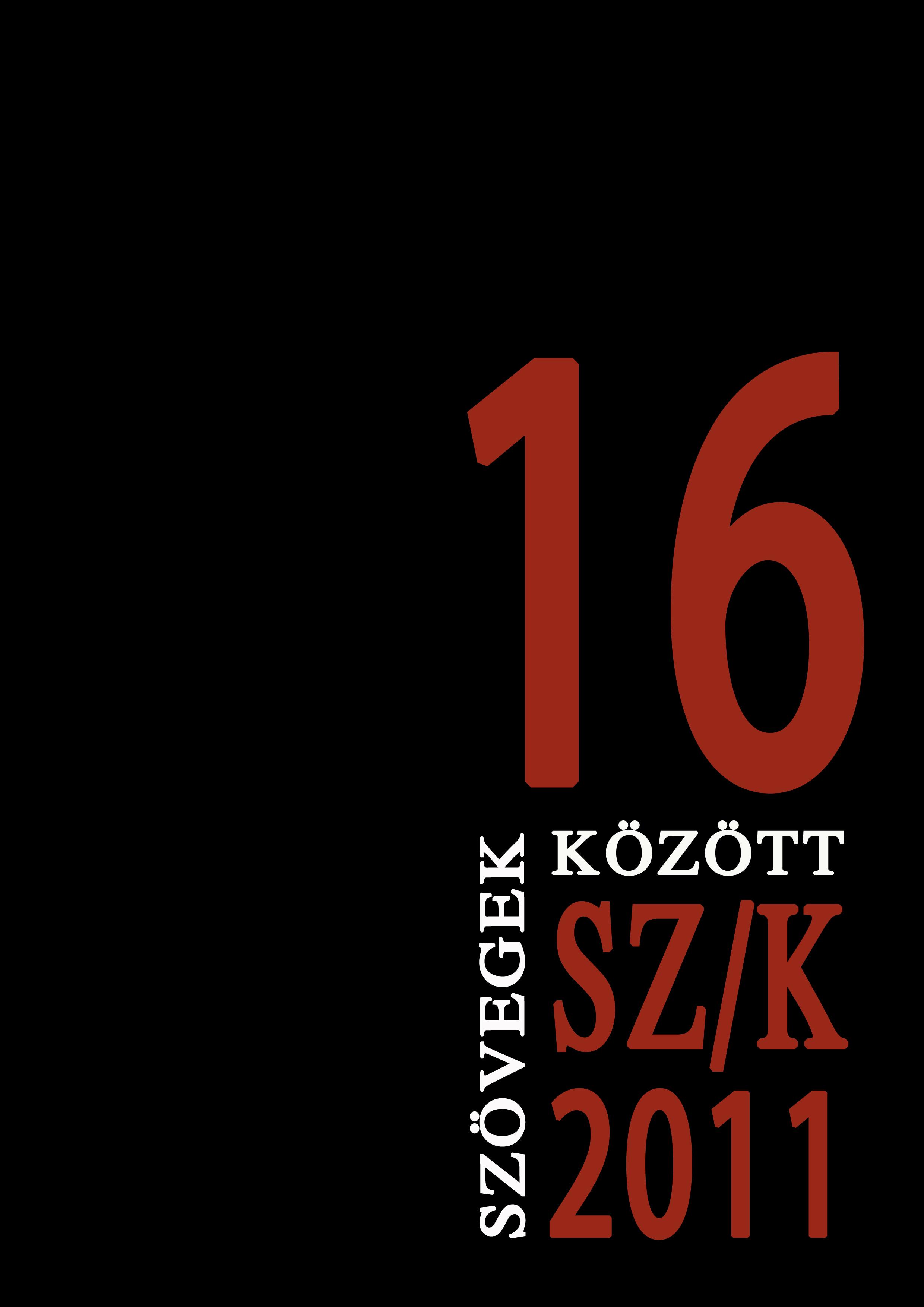 Szövegek között 16. (2011)