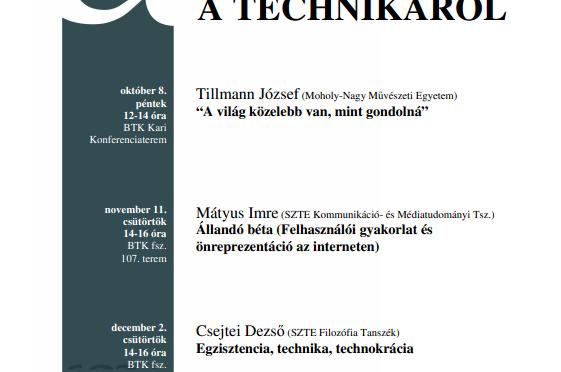 et al. előadások – 2010/ősz