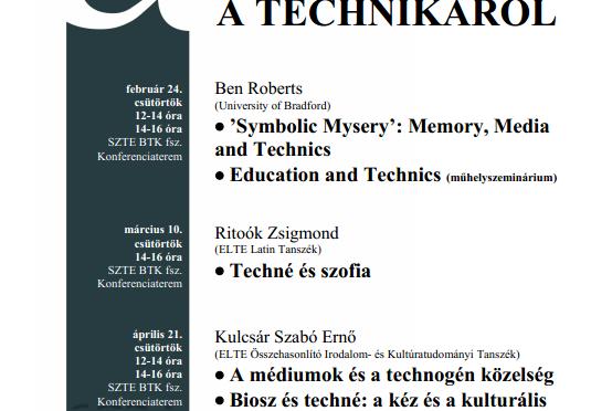 et al. előadások – 2011/tavasz
