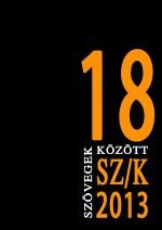 Szövegek között 18. (2013)