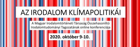 Az irodalom klímapolitikái – online konferencia