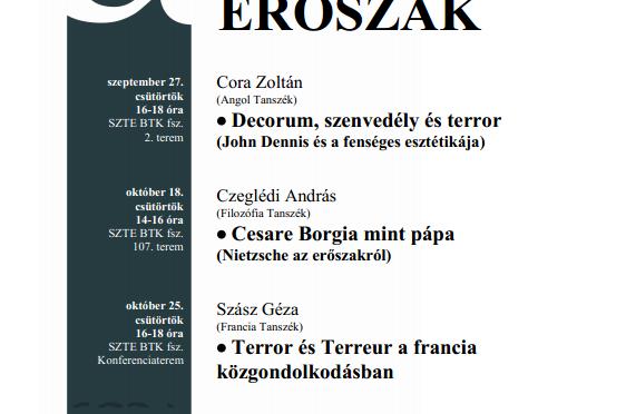 et al. előadások – 2012/ősz